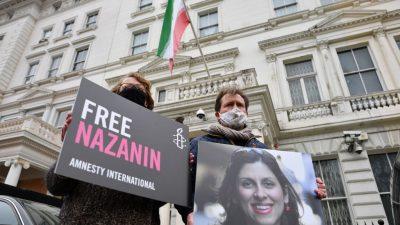 Britisch-iranische Staatsbürgerin nach Haftende im Iran erneut vor Gericht