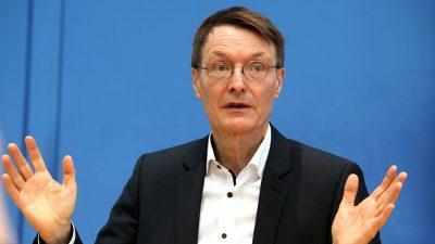 Lauterbach: Depressionen und Suizidalität wegen COVID-19 in Deutschland viel zu wenig besprochen