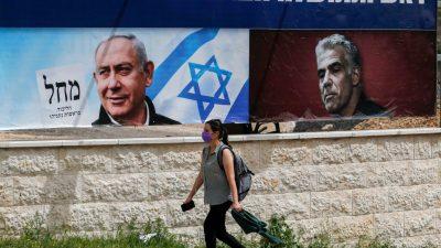 Israel wählt ein neues Parlament: Netanjahus wichtigster Widersacher
