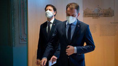 Slowakischer Regierungschef Matovic zurückgetreten