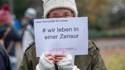 """Für Samstag geplante """"Querdenken""""-Demonstration in Dresden verboten"""
