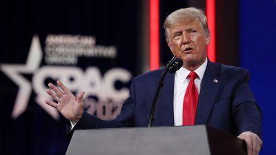 """Trump über Migrantenkrise an US-Grenze: """"Sie werden unser Land zerstören"""""""