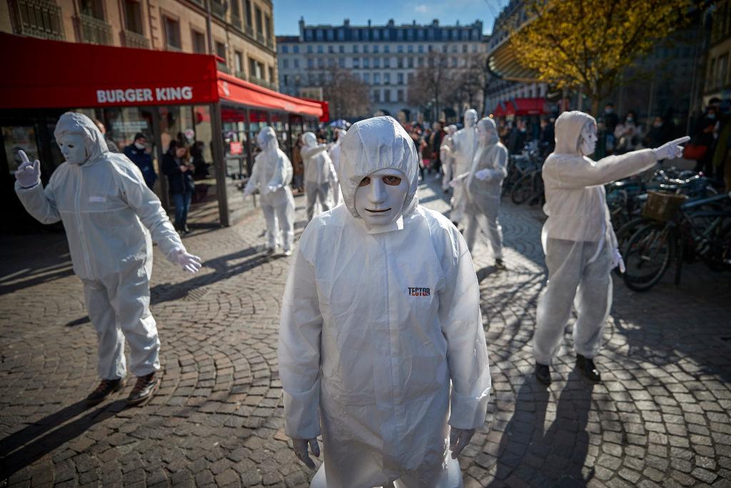 Europaweit mehrere tausend Teilnehmer bei Protesten gegen Corona-Maßnahmen