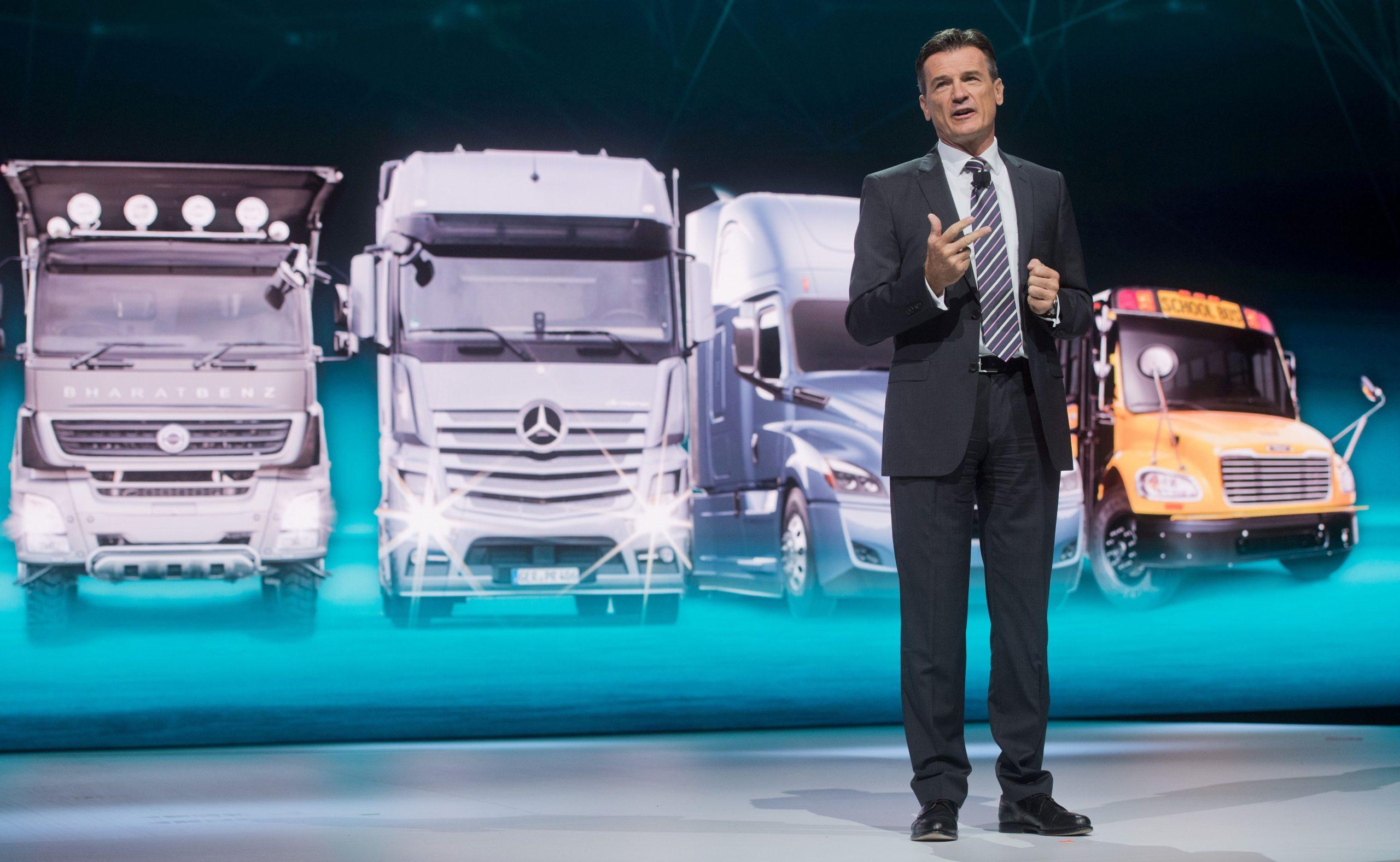 """Daimler Trucks werden """"grün"""" – und tausende Arbeitsplätze gehen verloren"""