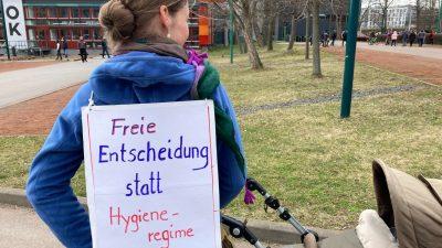 Staat demonstriert Polizeimacht in Dresden – Corona-Demo bleibt verboten