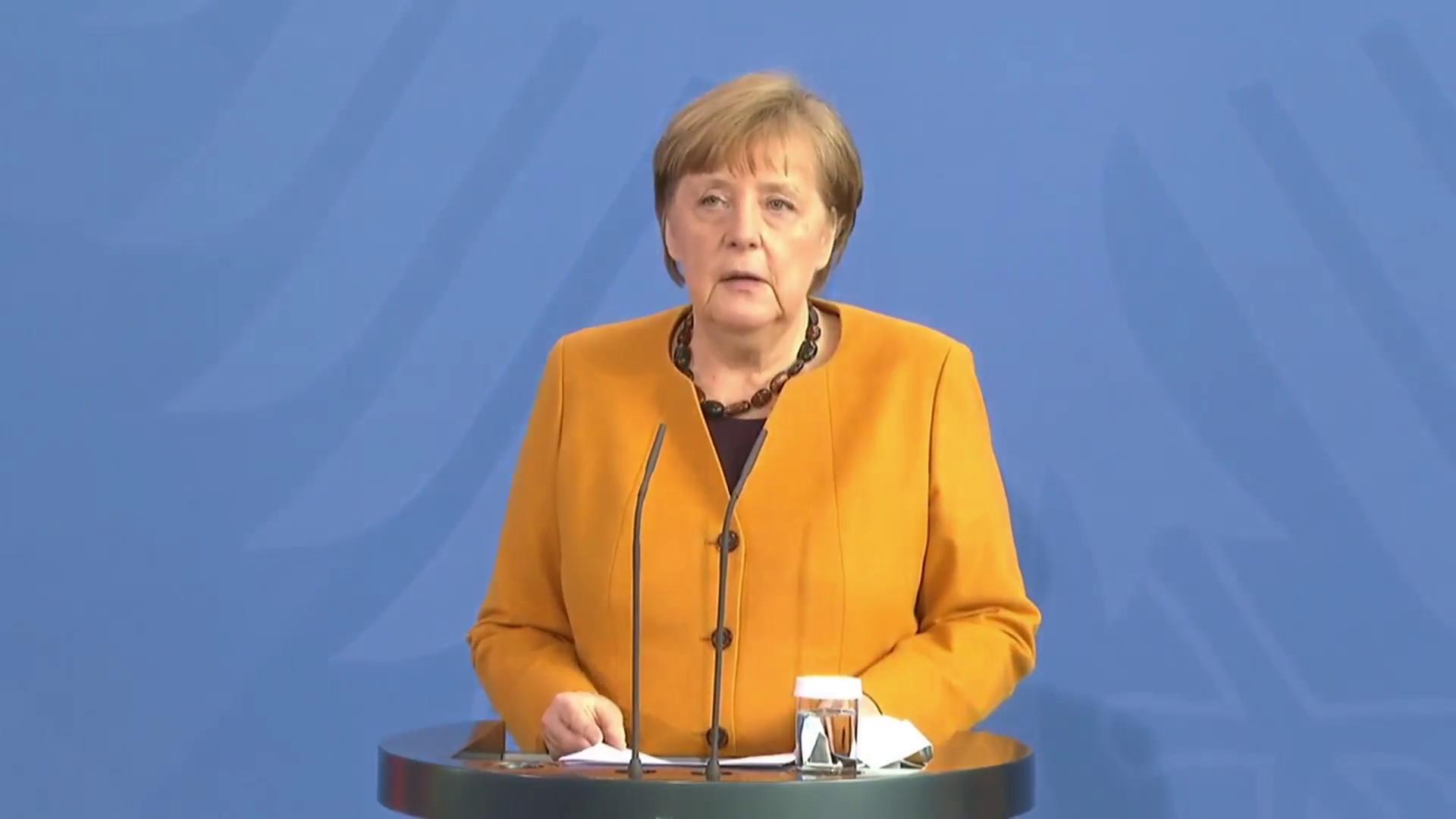 """""""Einzig und allein mein Fehler"""" – Merkel stoppt Corona-Beschluss zu Oster-Ruhetagen am Gründonnerstag und Karsamstag"""