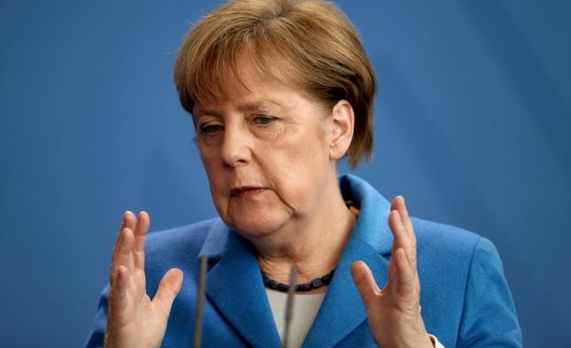 Merkel verteidigt Nord Stream 2 vor Europarat