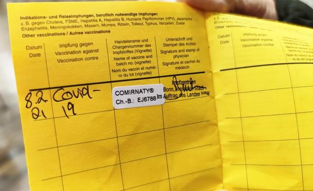 """CSU will """"zeitnah"""" digitalen Test- und Impfpass"""