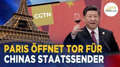 """FAZ-Anzeige: Werbung für """"Systemstärke"""" des chinesischen Sozialismus – KP Chinas im Layout der Zeitung"""