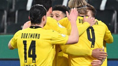 Enttäuschung für Rose in Gladbach – BVB im Halbfinale