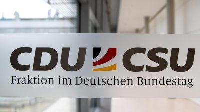 Union erwägt Entscheidung zu K-Frage in Bundestagsfraktionssitzung