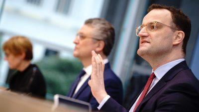 Streit mit dem RKI: Spahn widerspricht Wieler bei Inzidenz