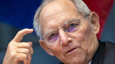 Schäuble für Corona-Impfung bei Olympia-Startern