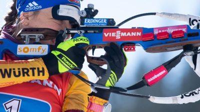 Biathletin Preuß erkämpft dritten Platz imGesamtweltcup