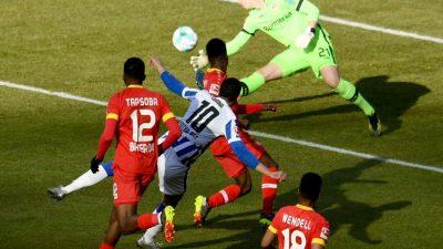 Befreiungsschlag: Klarer Hertha-Sieg gegen Leverkusen