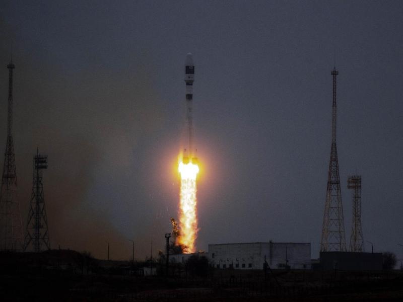 Raketenstart geglückt: Russland bringt 38 Satelliten ins All