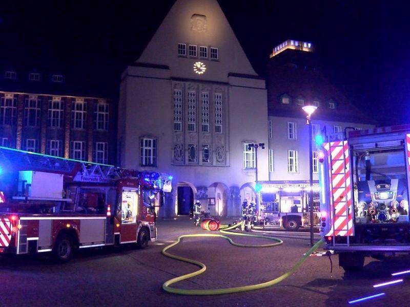 Brandanschlag auf Delmenhorster Rathaus – Festnahme
