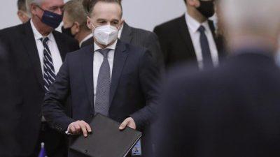 Maas: Mit Russland im NATO-Rat im Dialog bleiben – Geschlossene Bündnisantwort auf russische Aggression