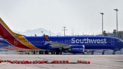 Southwest bestellt bei Boeing 100 Jets aus 737-Max-Reihe