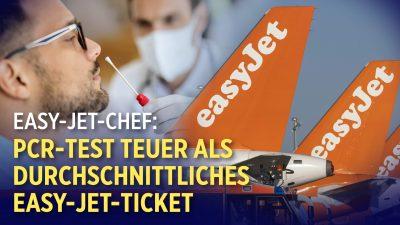 Easy-Jet-Chef: PCR-Test für Reisen zu teuer | USA: Texas verbietet Impfpass durch Verordnung