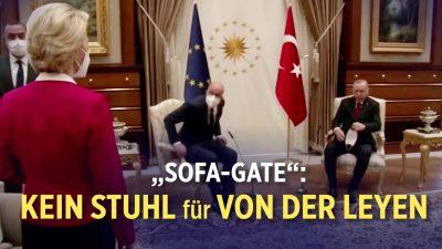 Ursula von der Leyen in der Türkei gedemütigt?   UK: Sorge vor gefälschten Impfpässen