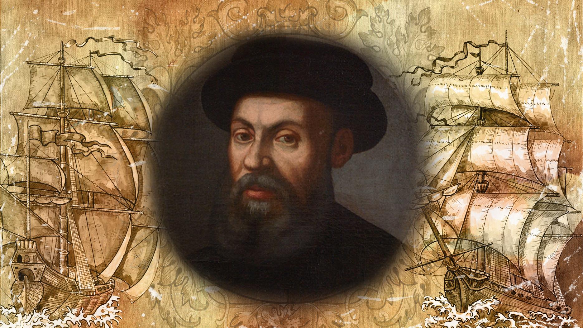 Eine Reise nach Westen in den Osten: Ferdinand Magellans Weltumsegelung in zwei Etappen