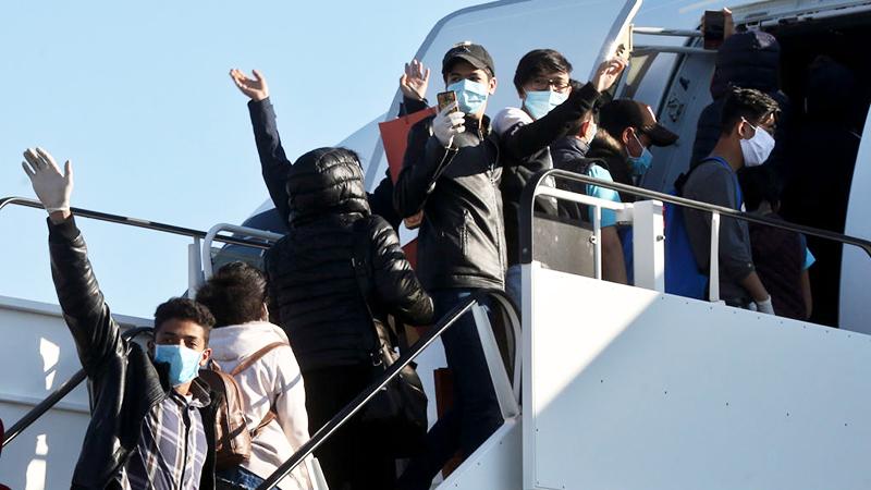 Hannover: Letzter Flug aus griechischen Flüchtlingslagern