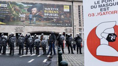 """Gerichtsurteil: Belgien muss wegen fehlender Rechtsgrundlage """"alle Coronavirus-Maßnahmen"""" aufheben"""
