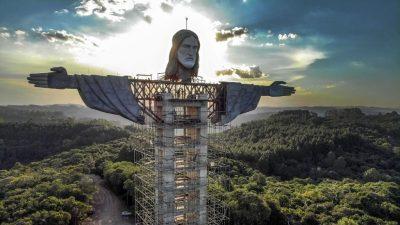 Neue Christus-Statue in Brasilien soll noch größer werden als Statue in Rio