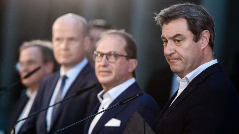 CSU-Präsidium stellt sich geschlossen hinter Söder als Kanzlerkandidat