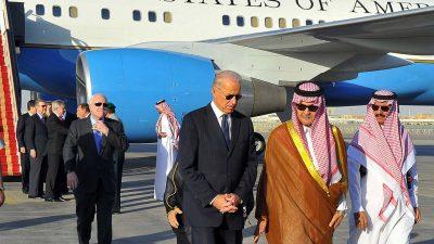 Araber appellieren an Biden: Wir wollen keine weitere Obama-Politik