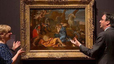 Ein von den Nazis gestohlenes Poussin-Gemälde in Italien wieder aufgetaucht