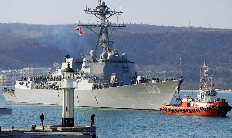 USA entsenden wegen Russland-Ukraine-Konflikt zwei Kriegsschiffe ins Schwarze Meer