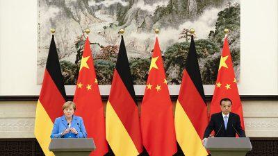 Merkel spricht mit Peking – Röttgen warnt vor naivem Blick auf China
