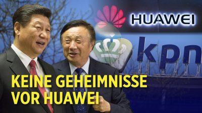 Geheimbericht: Huawei konnte von China aus 6,5 Millionen Niederländer abhören
