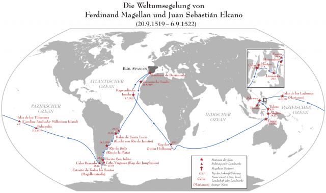 Weltumsegelung von Magellan
