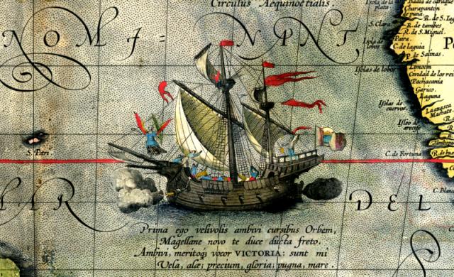Schiff Victoria von Magellan