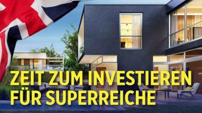 Immobilienpreise fallen: London verkaufte 2020 die meisten Luxushäuser weltweit