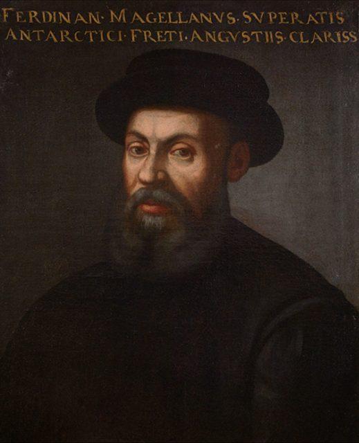 Portrait von Magellan