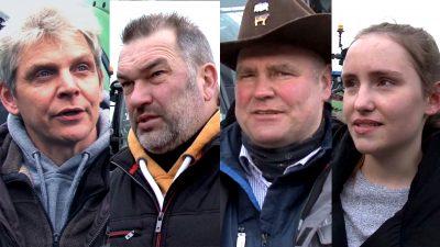 """""""Gesetze für die Landwirtschaft sind nicht praktikabel und ein wirtschaftliches Desaster"""" – Ein Videobericht"""