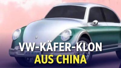 Plagiatsskandal der Autoindustrie: Chinesische Autohersteller kopieren Design westlicher Fahrzeuge