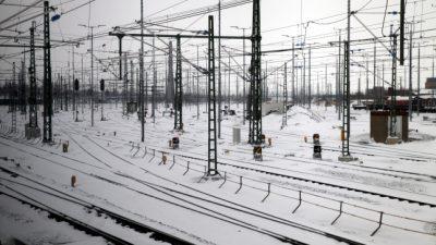 Wintereinbruch im Februar kostete Deutsche Bahn 67 Millionen Euro