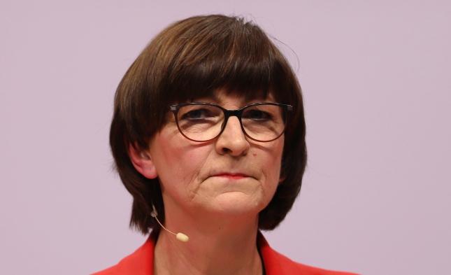 Esken sieht keine Basis für weitere Zusammenarbeit mit der CDU
