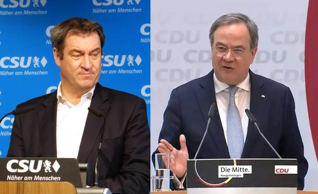"""CSU-Politiker: """"Mit Laschet droht Verlust der Kanzlerschaft und Abdriften in die Bedeutungslosigkeit"""""""