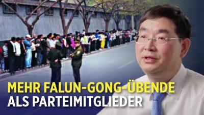 Größter friedlicher Protest in China seit 1989: Demonstranten sprachen mit Premierminister