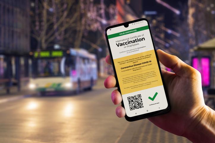 Der Grüne Pass: Eintrittskarte in ein normales Leben?