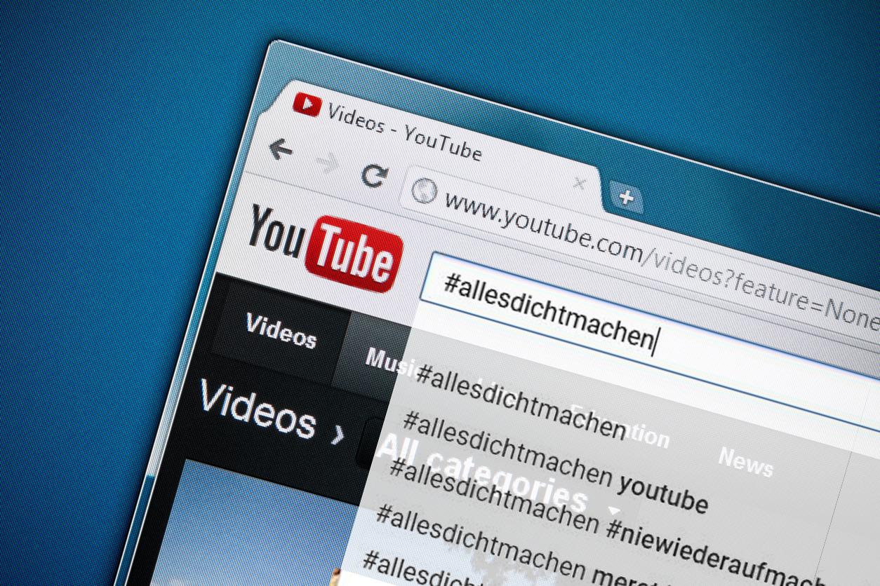 """""""Ausgezeichnete"""" Meinungsfreiheit: YouTube verbannt #allesdichtmachen-Kanal aus Suchergebnissen"""