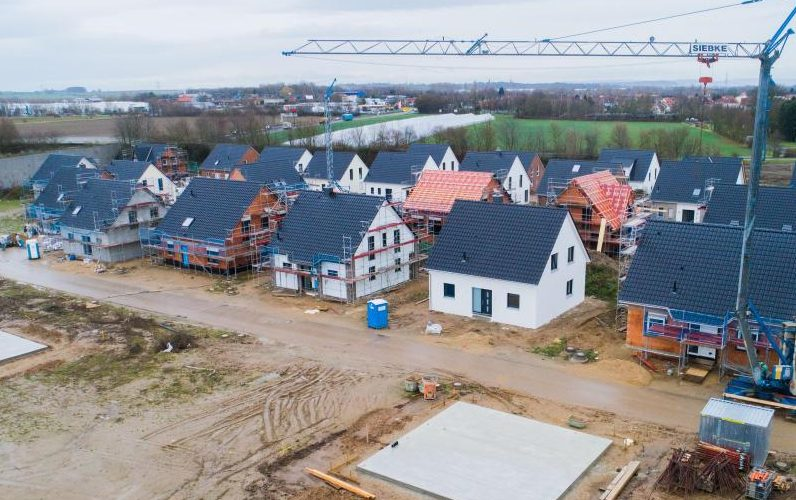 Baugenehmigungen steigen – doch 790.000 Bauprojekte bleiben auf der Strecke