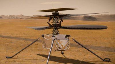 Mars-Hubschrauber soll frühestens am 11. April starten