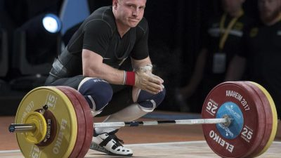 Gewichtheber Spieß: Der schwere Kampf gegen Funktionäre